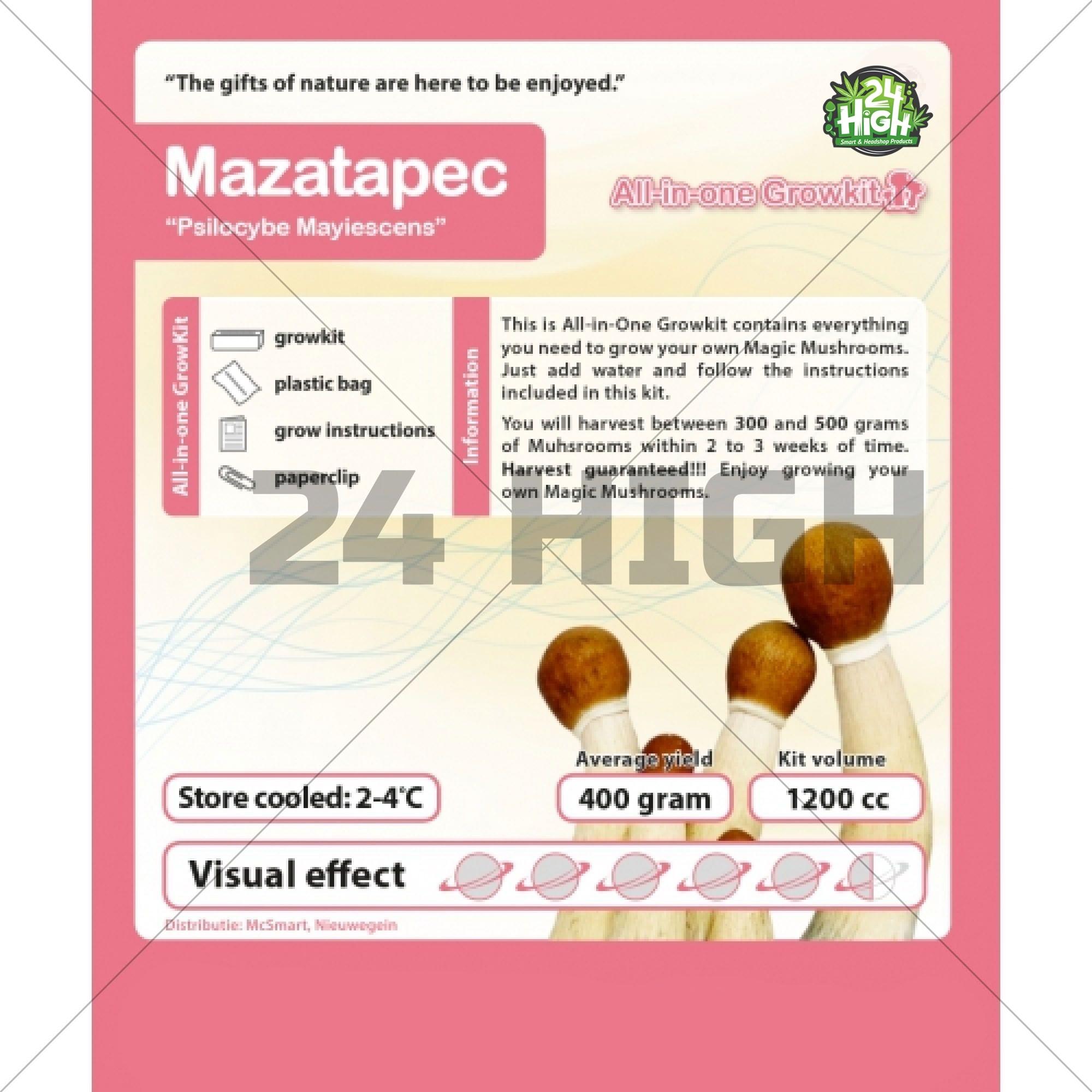 Mazatapec, All in one Growkit