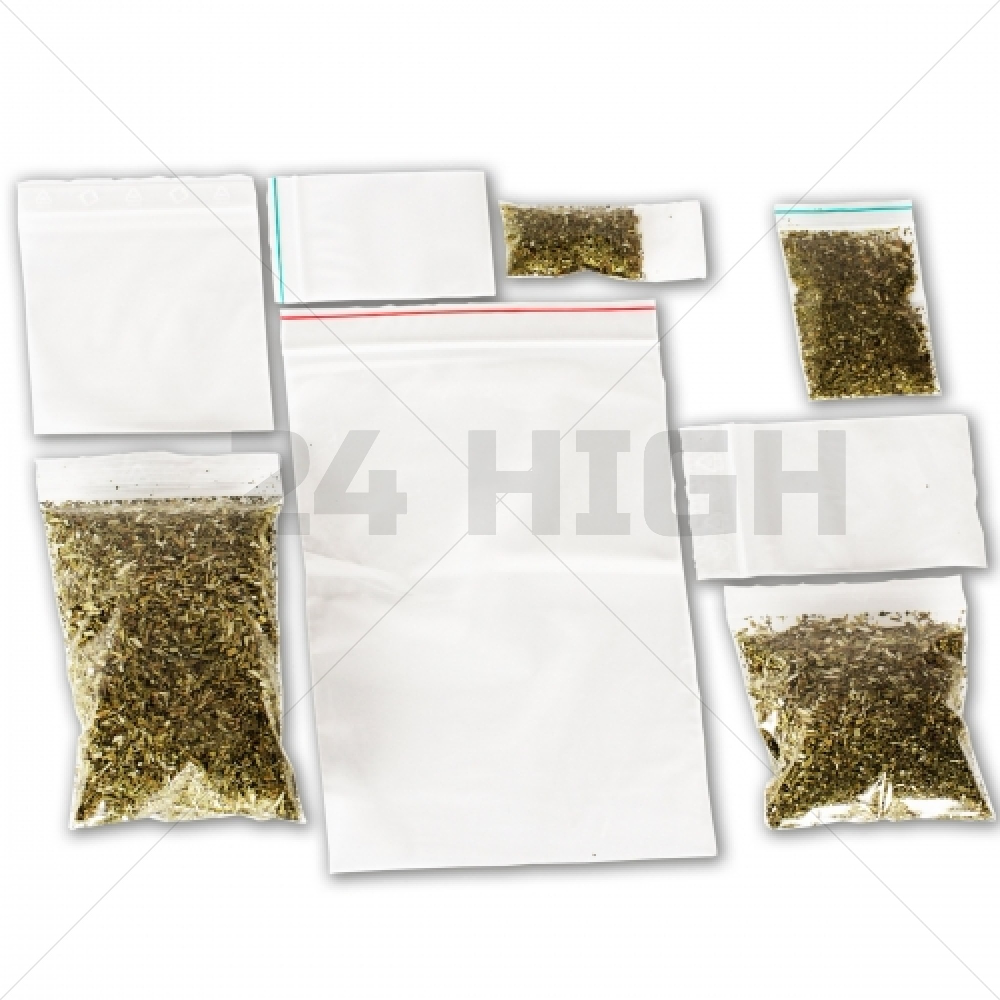 Resealable Grip bags different sizes