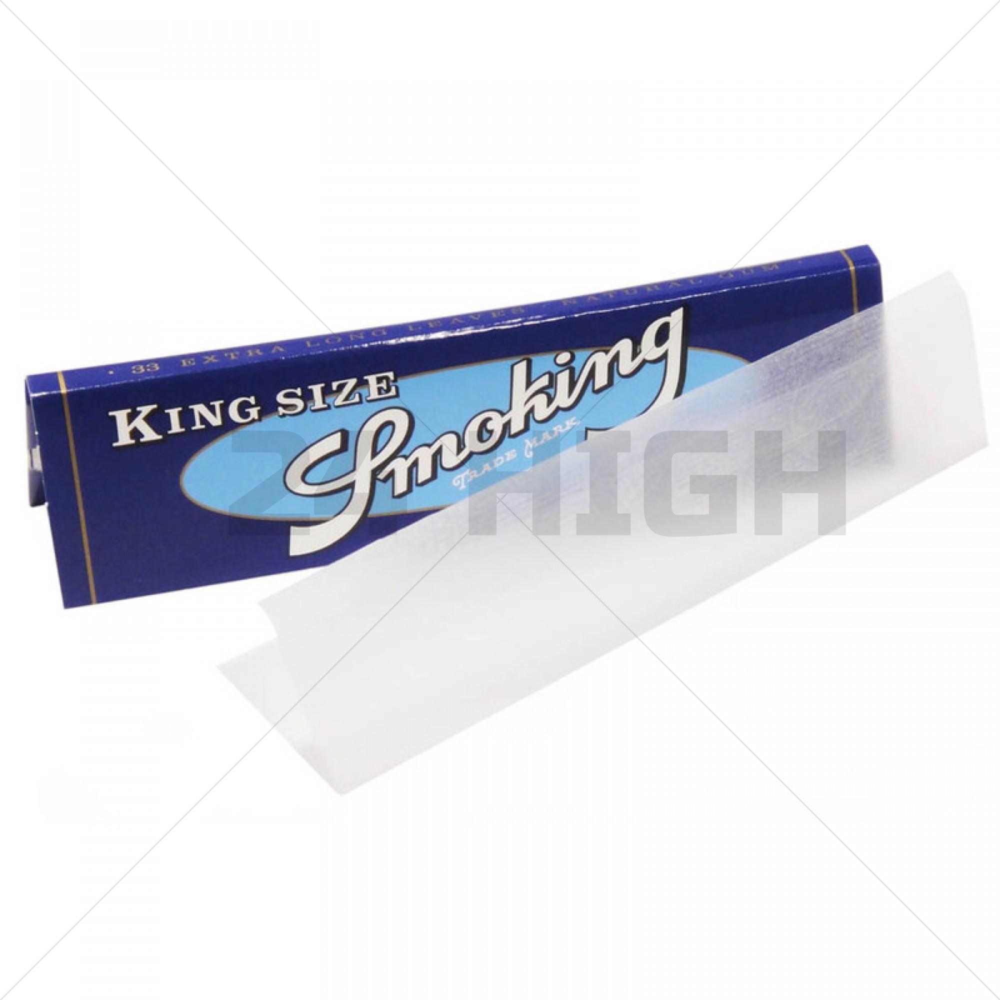 Smoking Blue King Size