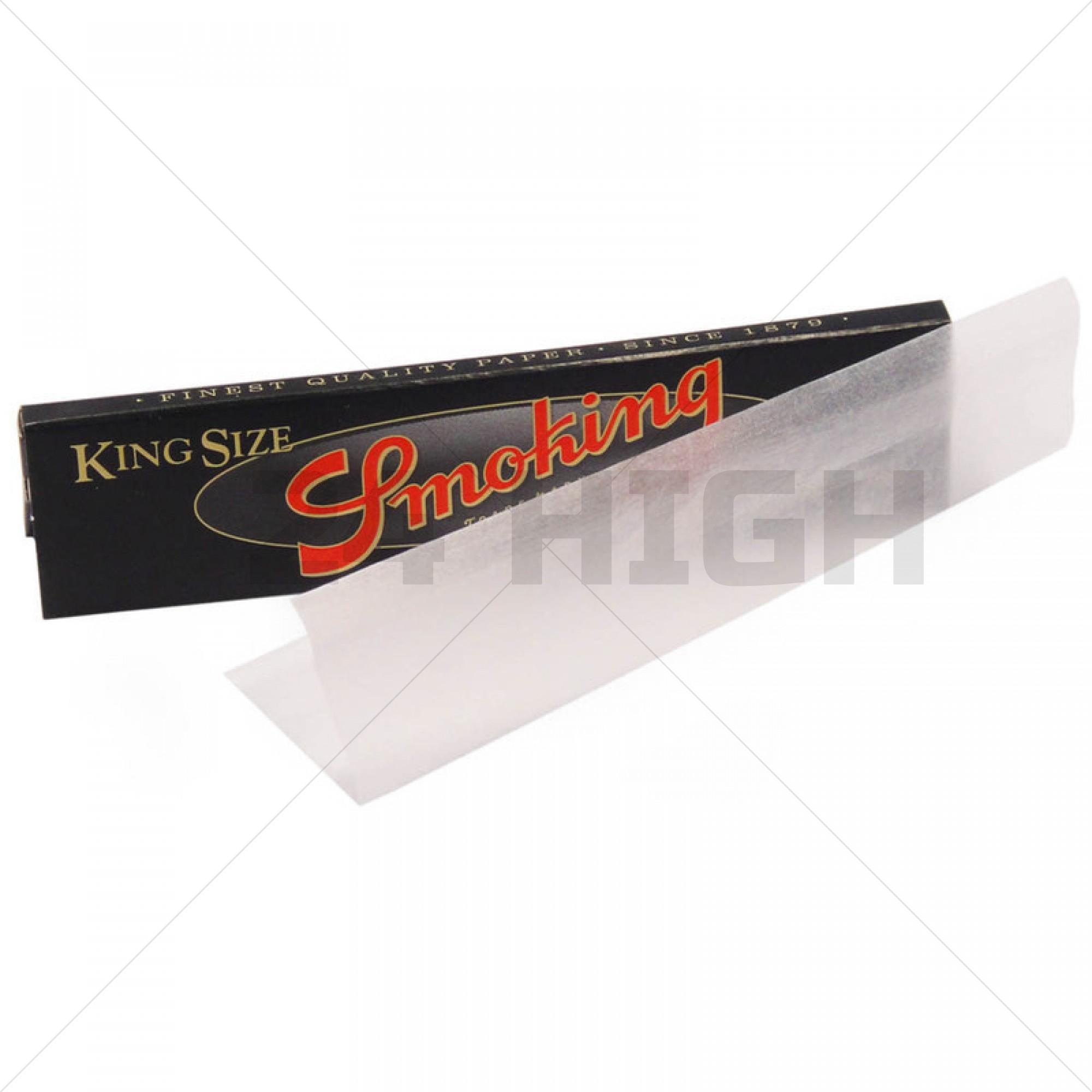 Smoking Black King Size