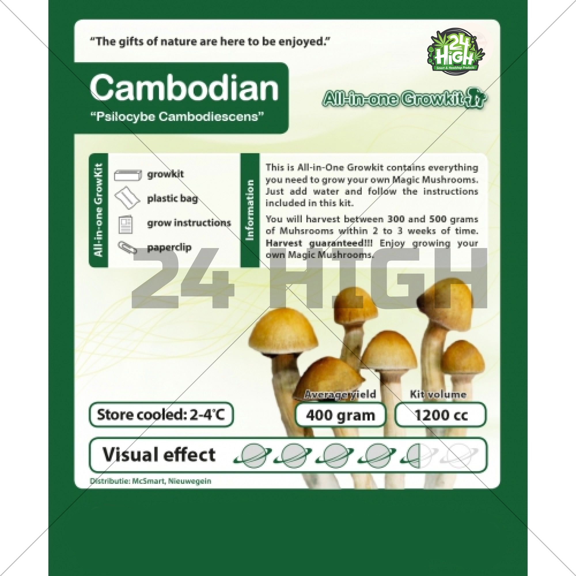 Cambodian All in one Growkit
